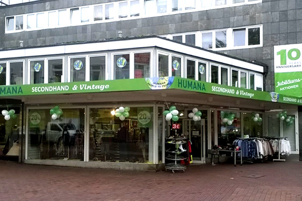 Humana Secondhand Vintage Shops In Berlin Köln Hamburg
